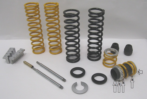Ohlins Dual Spring Conversions S36 series,twins,atv,vintage