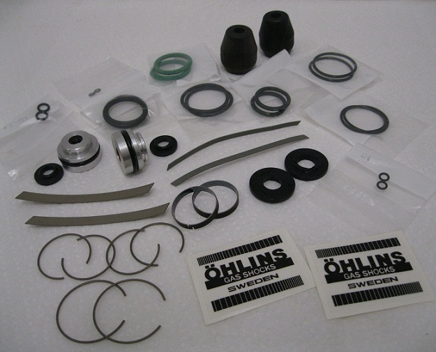 Ohlins Vintage Mx Twins_S36 Seals_Rebuild_parts Kit_Seal heads_Bushings_Rebuilds parts with Bumpers_S36_oil_update_decals Vintage_12