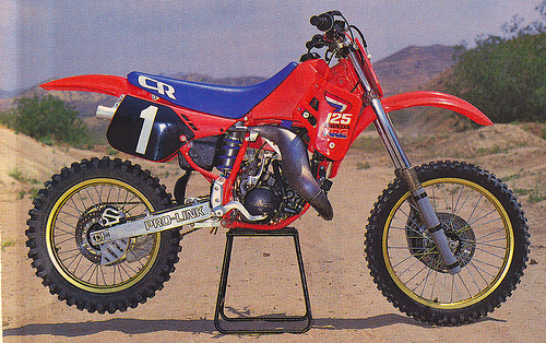 86 cr 125 Mickey Dymond
