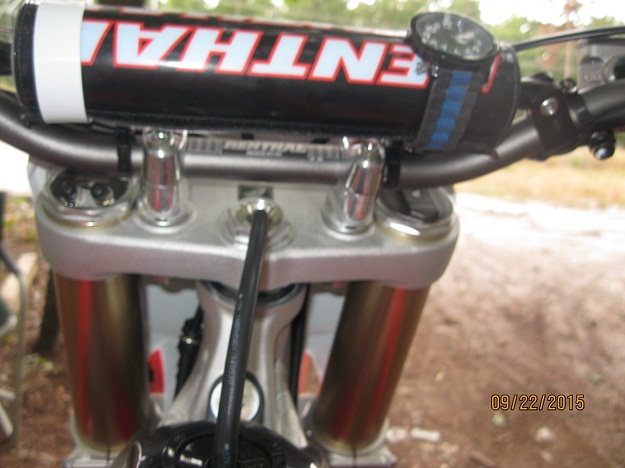 Honda 2016 CRF250R Ohlins Pro Pilot Suspension