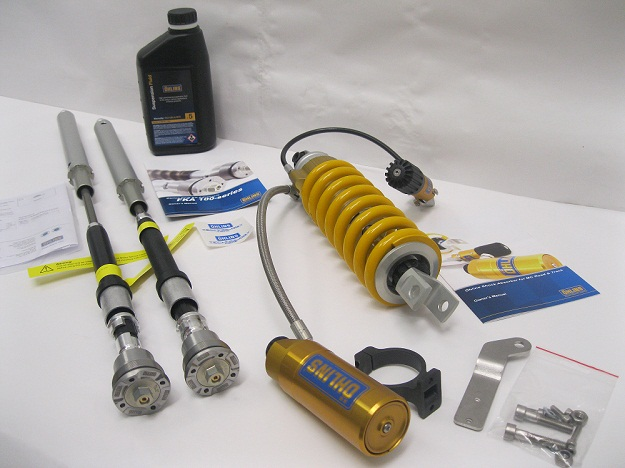 Ohlins Tenere YA013 and FKA106 Suspension kit