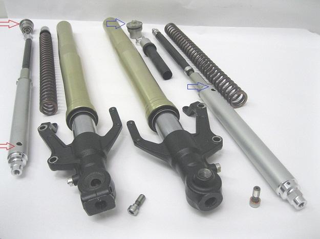 Ohlins tenere 30mm Fork Kit FKA106