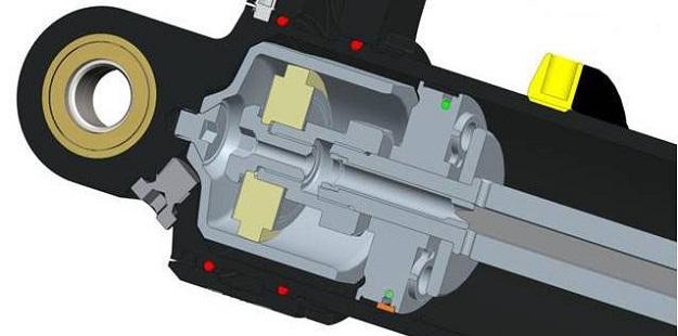 Touratech Dual PDS Shock Piston