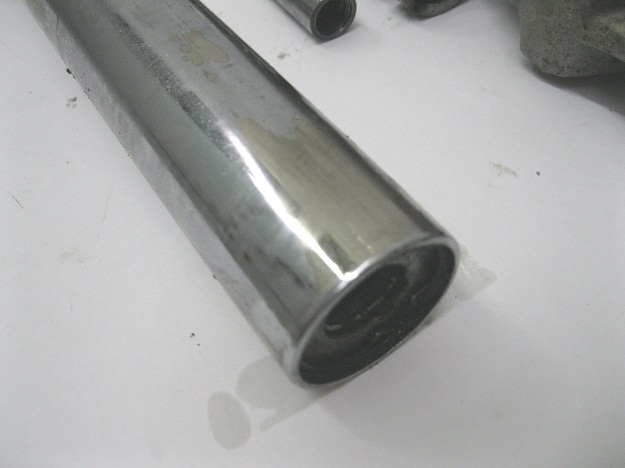 Bmw R90s Fork Tube Chrome