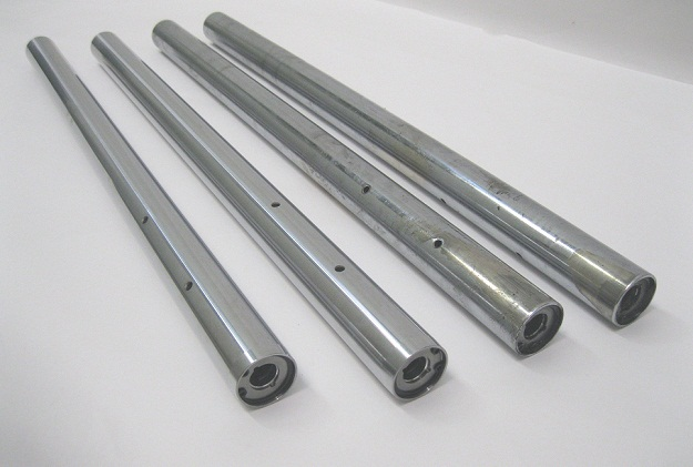 New Chrome Fork Tubes BMW