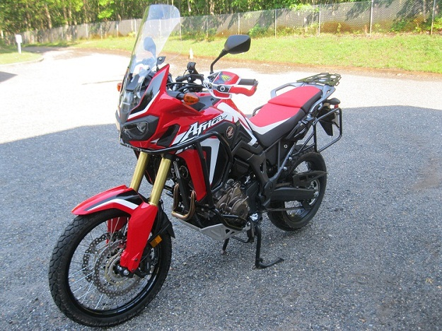 Africa Twin Ohlins