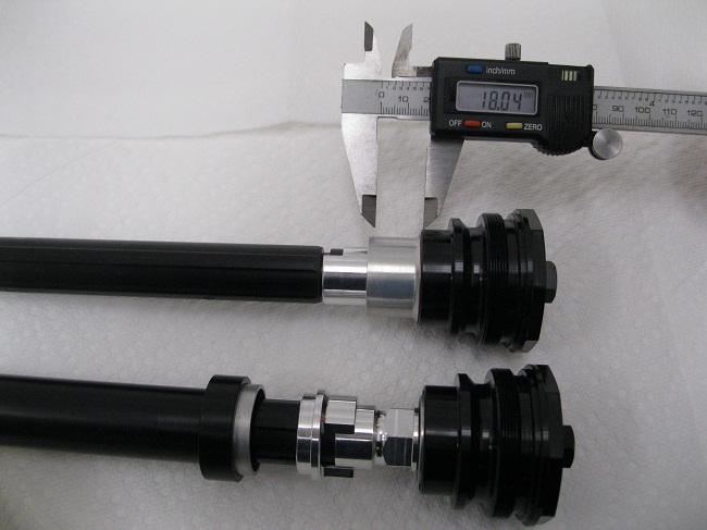 Ohlins FKA110 fork cap NIX Africa Honda CRF1000L