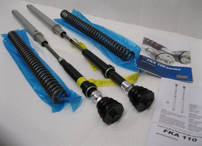 Ohlins NIX FKA110 30mm fork spring and heavy cartridge kit