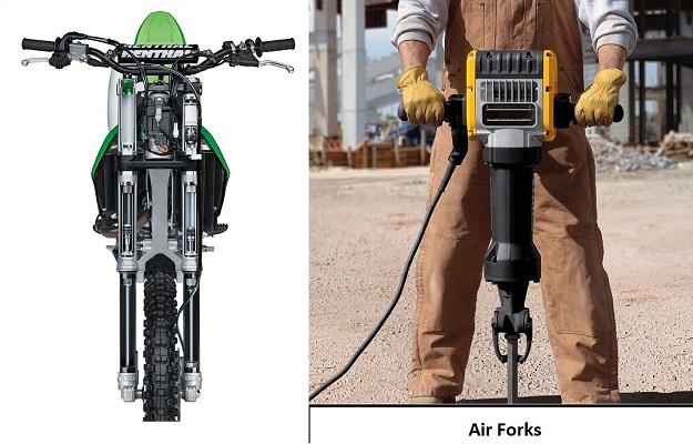 Kawasaki Kxf Front Forks