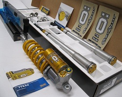 Ohlins Cart and TTX Shk Combo