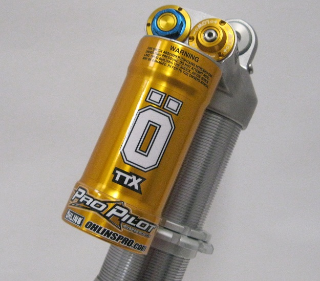 Ohlins Ktm 2017 Shock Ttx KT1794 and Fork 48rxf Suspension air fork fix