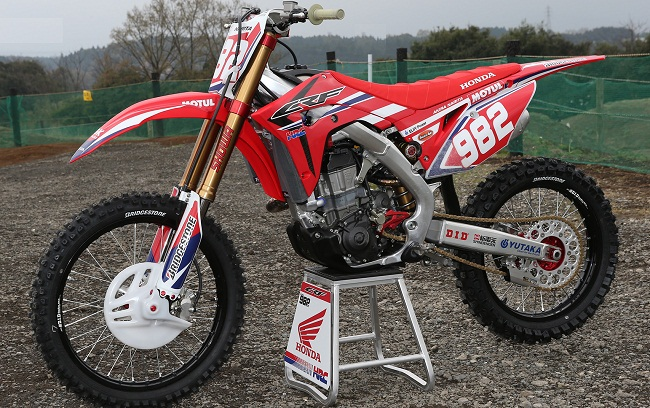 2017 Honda CRF450R _AIR FORKS_Shock_Ohlins_TTX_Showa_KYB_Fix