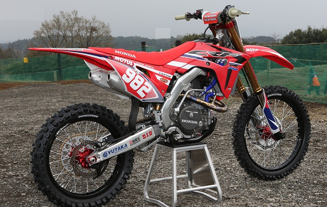 2017 Honda CRF450r Honda Suspension_Ohlins_TTX_KYB_Showa_Forks