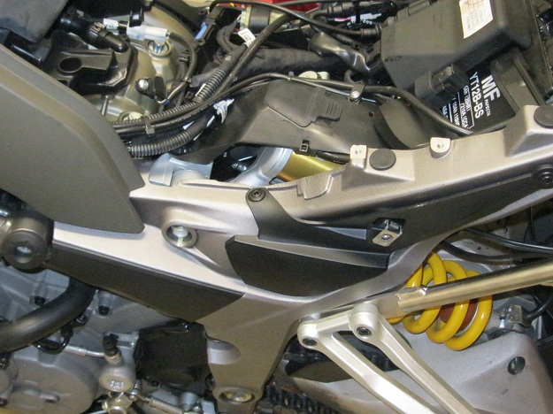 Ducati Multistrad Shock rebuilding Sachs Ohlins