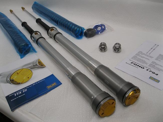 Ohlins FGHO1794 Honda CRF450 Ohlins TTX Cartrdige Kit with Fork springs