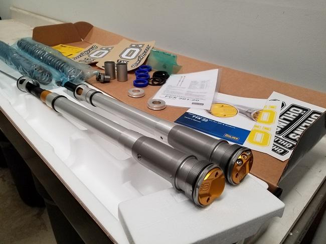 2021 Ktm Ohlins Cart Kit W springs FCX_201_20 FCX_301_20 Pic