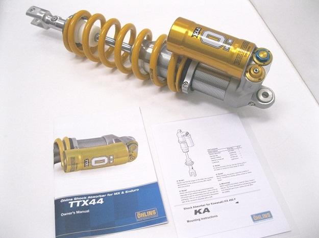 Ohlins 2016 KXF450 Shock KA1694 KA1594 KA1494 KA1394 KA1294 KA1194 KA1094