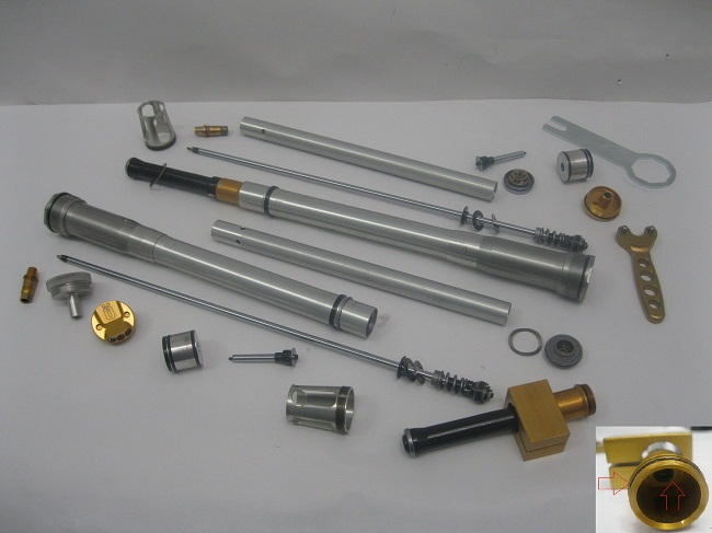 Ohlins Cart KIt parts Seals and Springs