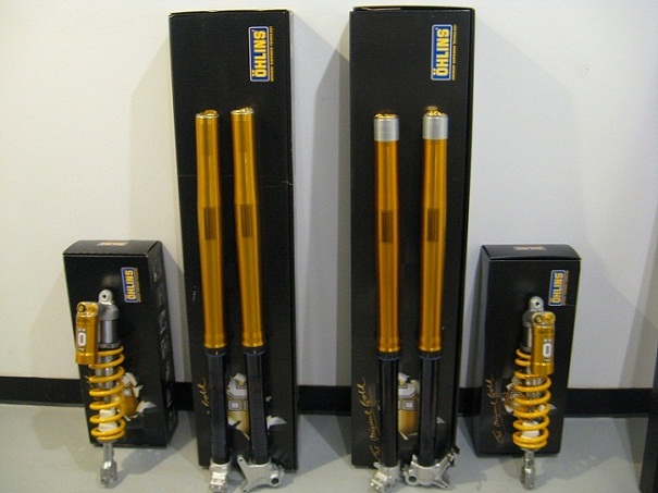 Ohlins MX Shock And Fork Rebuiling and Service