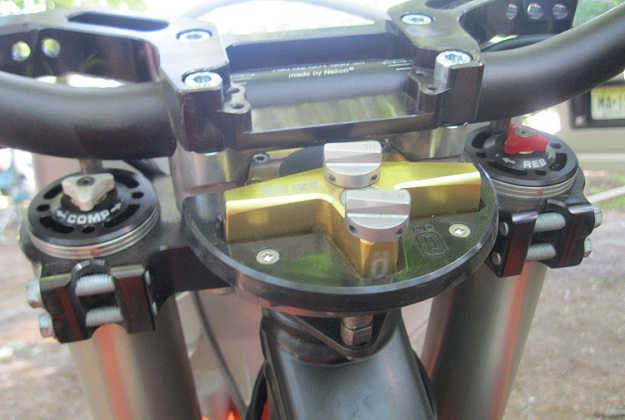 Ohlins Steering damper 2.1 2.2 Ktm Mount SD535