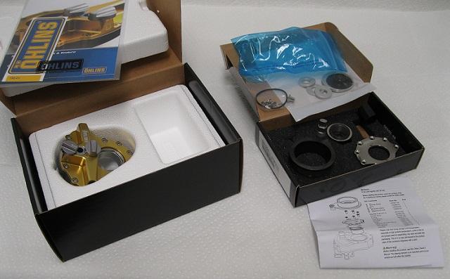 Ohlins Mx Steering Damper and Mounts , SD502 Pro Pilot