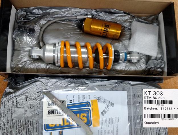 Ohlins KTM RC 390 Shock KT 303