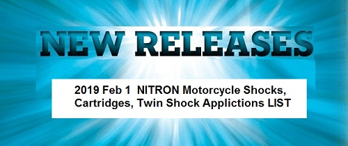 NITRON SHOCKS, Service, Parts, Sales at a discount Ohlins, Penske,Kteck, Progressive, Legend