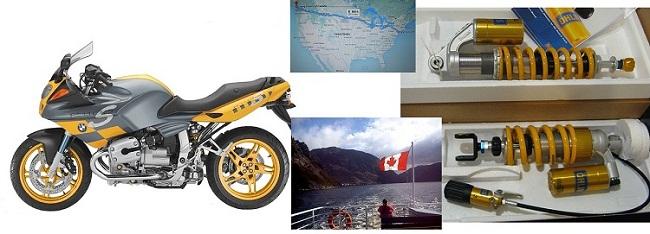 Dana R. Summerdale British Columbia CANADA bmw-R1100S