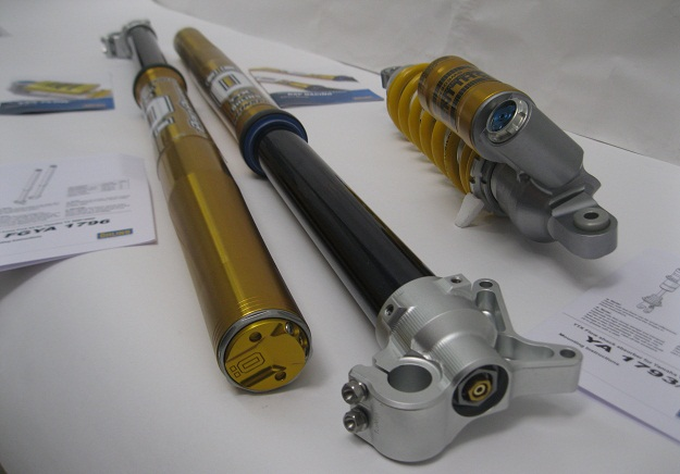 Ohlins YA1794 YA1793 FGYA1796 TTX Forks and Shock