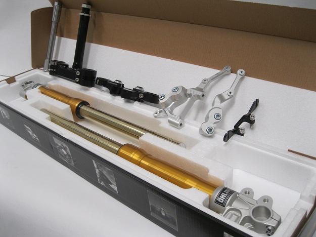 Ducati Ohlins Forks Gold 43mm