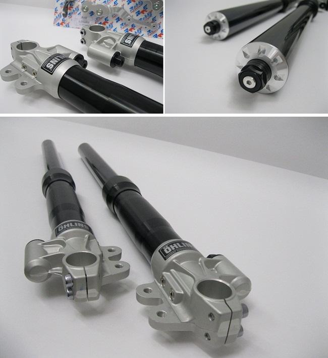 Ohlins Ducati Scrambler Black Forks Kit