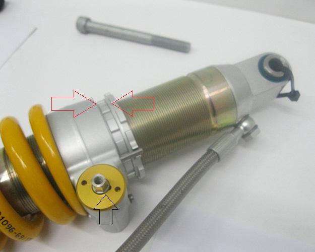BM303 Ohlins Shock F800 Preloader