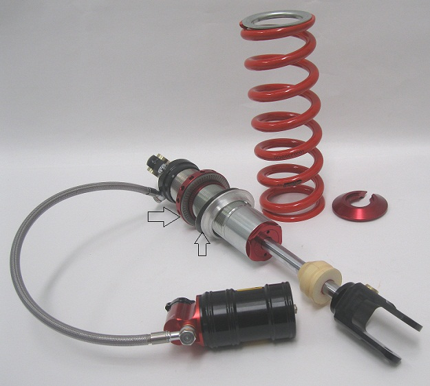 Dr 650Elak Stage 4 Shock