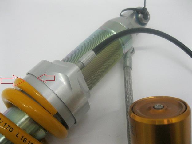 Ohlins BM303 Shock Preloader new style