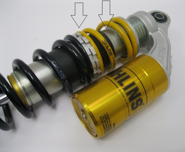 Ohlins Vintage Mx Shocks S36P