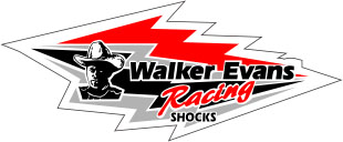 Walker Evans Shock Logo Black-Red