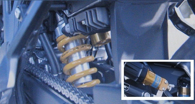 Ohlins HO646 Honda Africa Twin shock S46PR1C1S_Nitron_Touratech