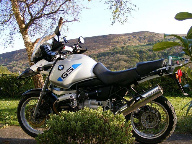 bmw-r1150gs_ Ohlins Shocks