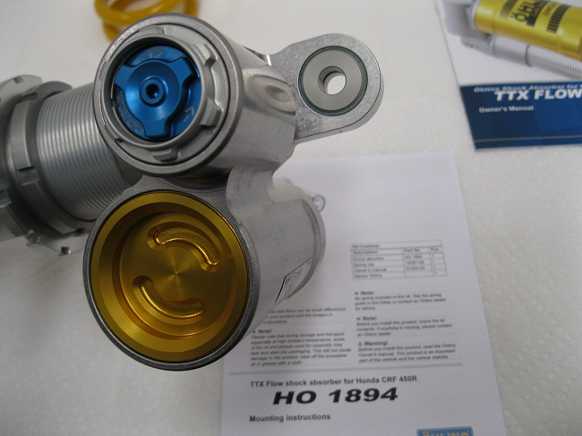 Honda HO1894 TTX Flow Shock and Spring 6310