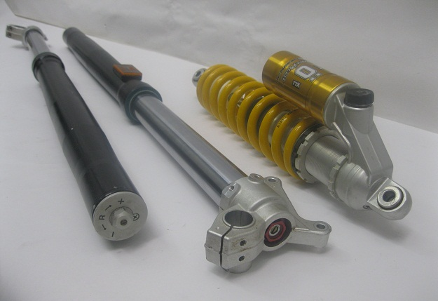 Bmw G450X Ohlins Shock and Forks