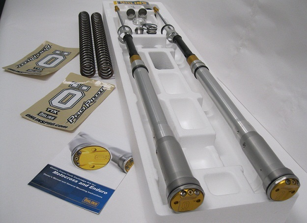 Ohlins YZ 125 YZ 250 Cartridge Kits with springs