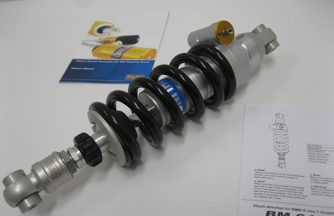 BMW R_Nine_T_Ohlins BM640_Bm641 Shocks