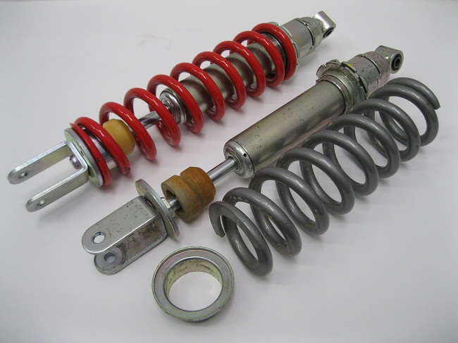Honda CRF250L rally Ohlins Race Tech YSS Shock Vs